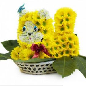 Купить игрушка из цветов-№4 в Комсомольске-на-Амуре