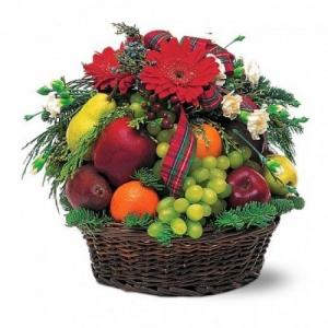 Купить корзина из фруктов №4 в Комсомольске-на-Амуре