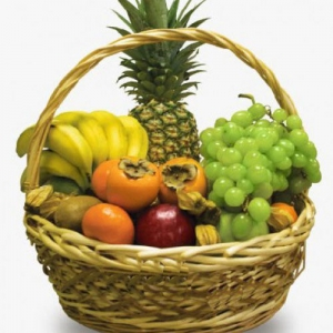 Купить корзина из фруктов №5 в Комсомольске-на-Амуре