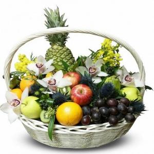 Купить корзина из фруктов №6 в Комсомольске-на-Амуре