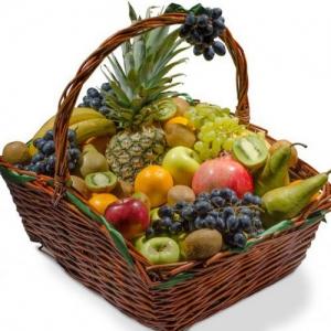 Купить корзина из фруктов №8 в Комсомольске-на-Амуре