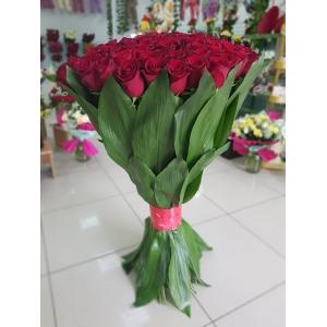 Купить охапку из 101 роз (90 см) в Комсомольске-на-Амуре