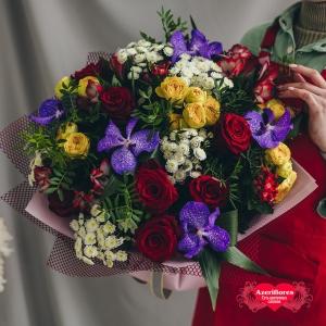 Купить букет «Чувства на ладони» в Комсомольске-на-Амуре