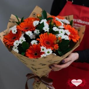Букет «Цитрус» с доставкой в Комсомольске-на-Амуре