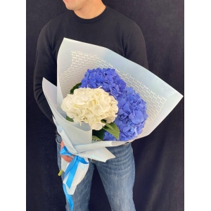 Купить букет «Голубое облако» с доставкой в Комсомольске-на-Амуре