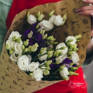 Купить букет «Нежность в крафте» в Комсомольске-на-Амуре