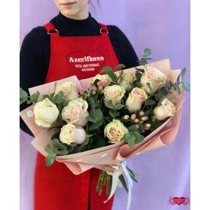 Купить букет «Розовая нежность» с доставкой в Комсомольске-на-Амуре