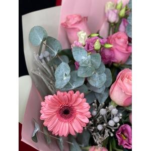Купить букет «Розовый фламинго» с доставкой в Комсомольске-на-Амуре