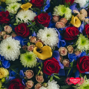 Купить букет «Весеннее воображение» в Комсомольске-на-Амуре