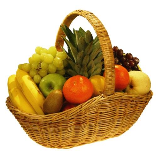 Купить корзина из фруктов №2 в Комсомольске-на-Амуре