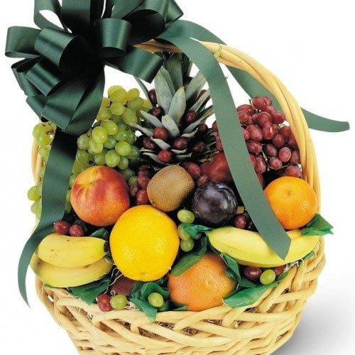 Купить корзина из фруктов №3 в Комсомольске-на-Амуре