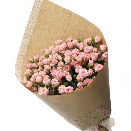 Купить букет из 15 кустовых роз в Комсомольске-на-Амуре