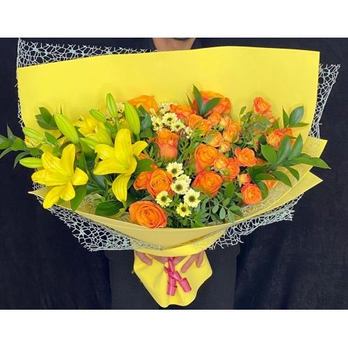 Купить букет «Майский день» с доставкой в Комсомольске-на-Амуре