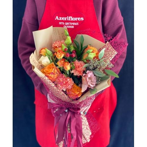 Купить букет «Осенние краски» с доставкой в Комсомольске-на-Амуре