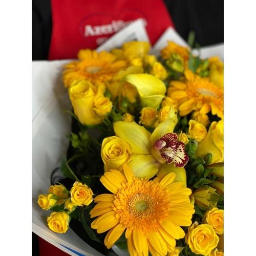 Купить букет «Солнечный день» с доставкой в Комсомольске-на-Амуре