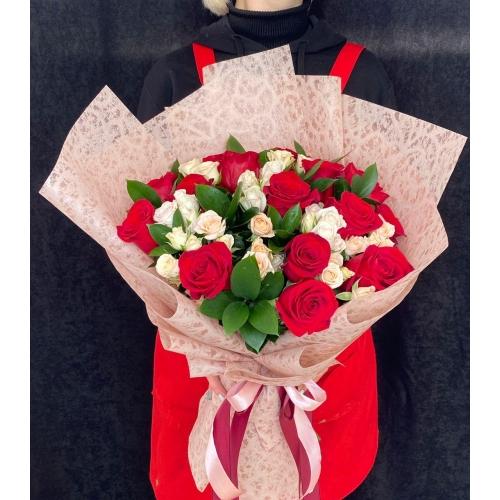 Купить букет «Танго» с доставкой в Комсомольске-на-Амуре