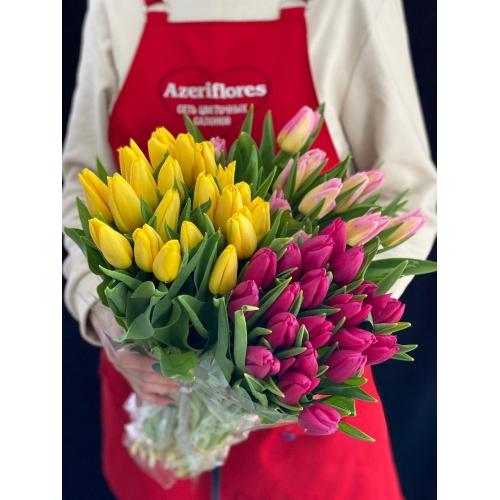 Купить тюльпаны с доставкой в Комсомольске-на-Амуре